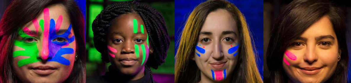 Rare Disease Day Face paintings
